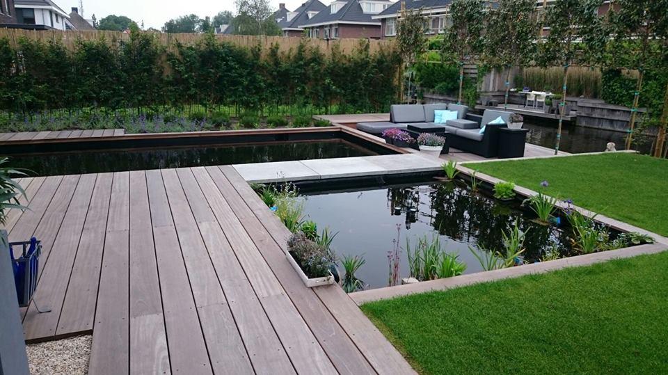 Een zwemvijver in uw tuin?